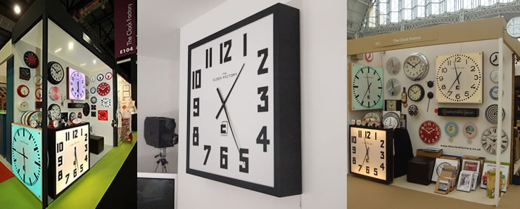 Extra Large Square Wall Clocks Interior Design Ideas
